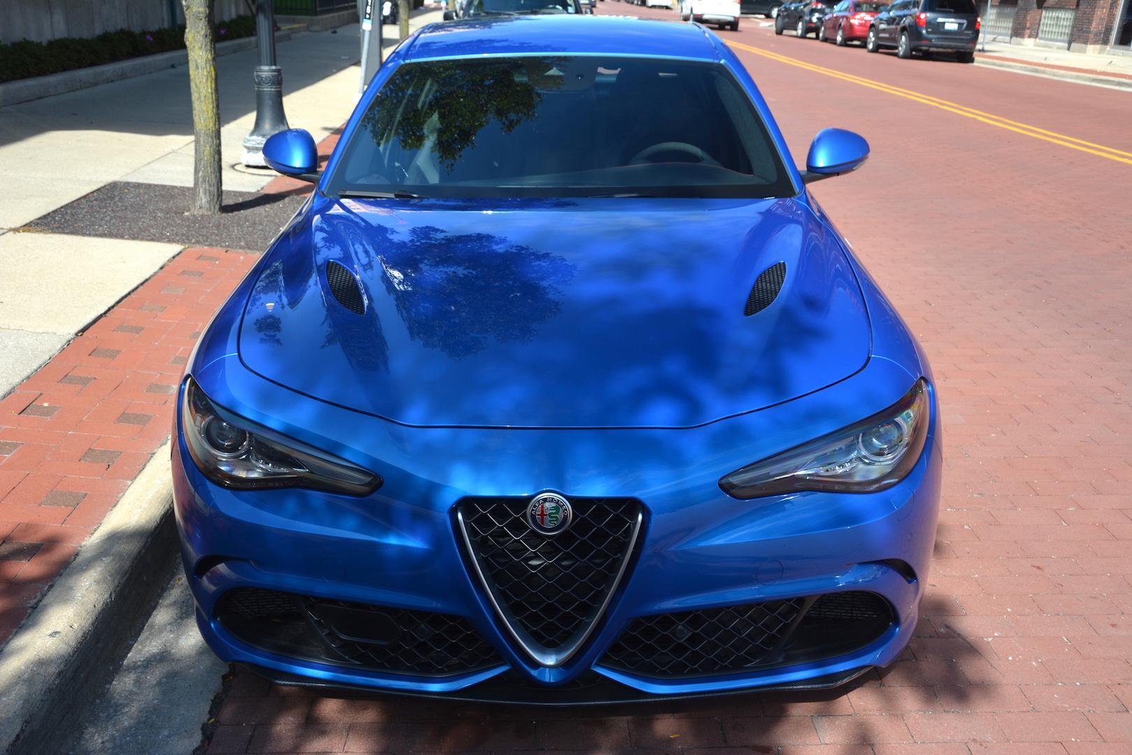 Alfa Romeo Giulia QV Front