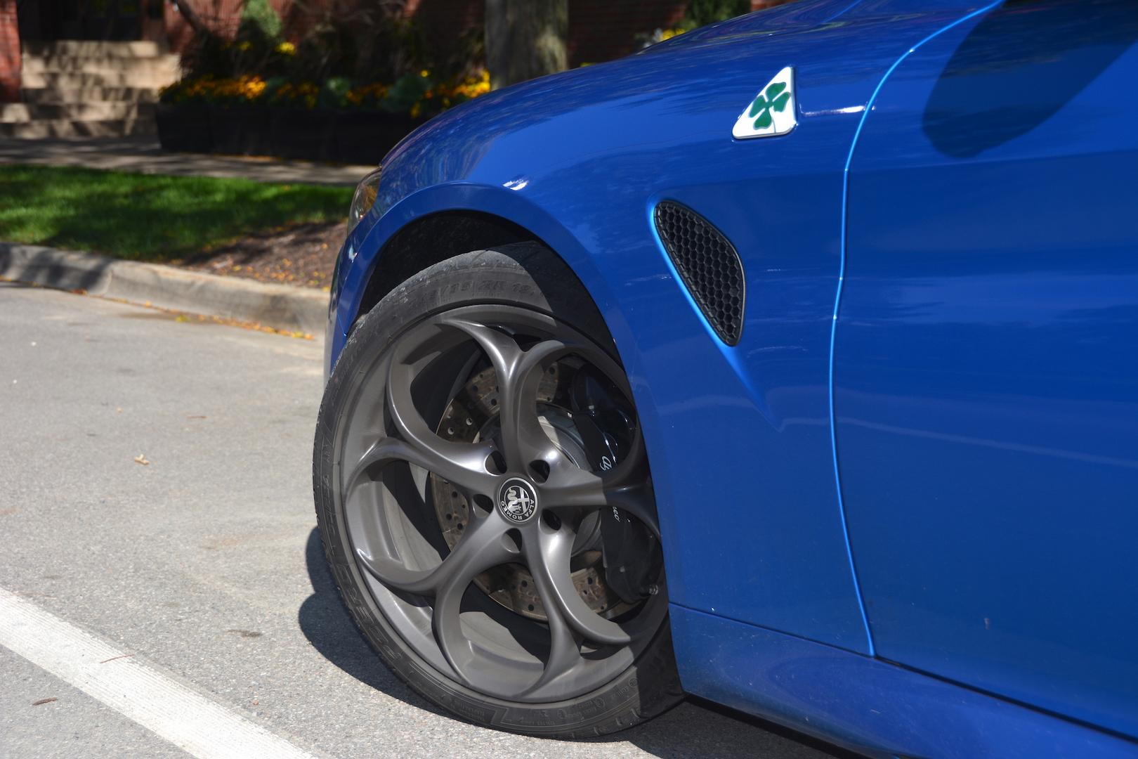 Alfa Romeo Giulia QV Wheels