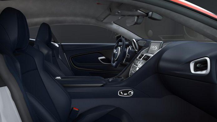 Aston Martin DBS Superleggera Concorde Edition Interior