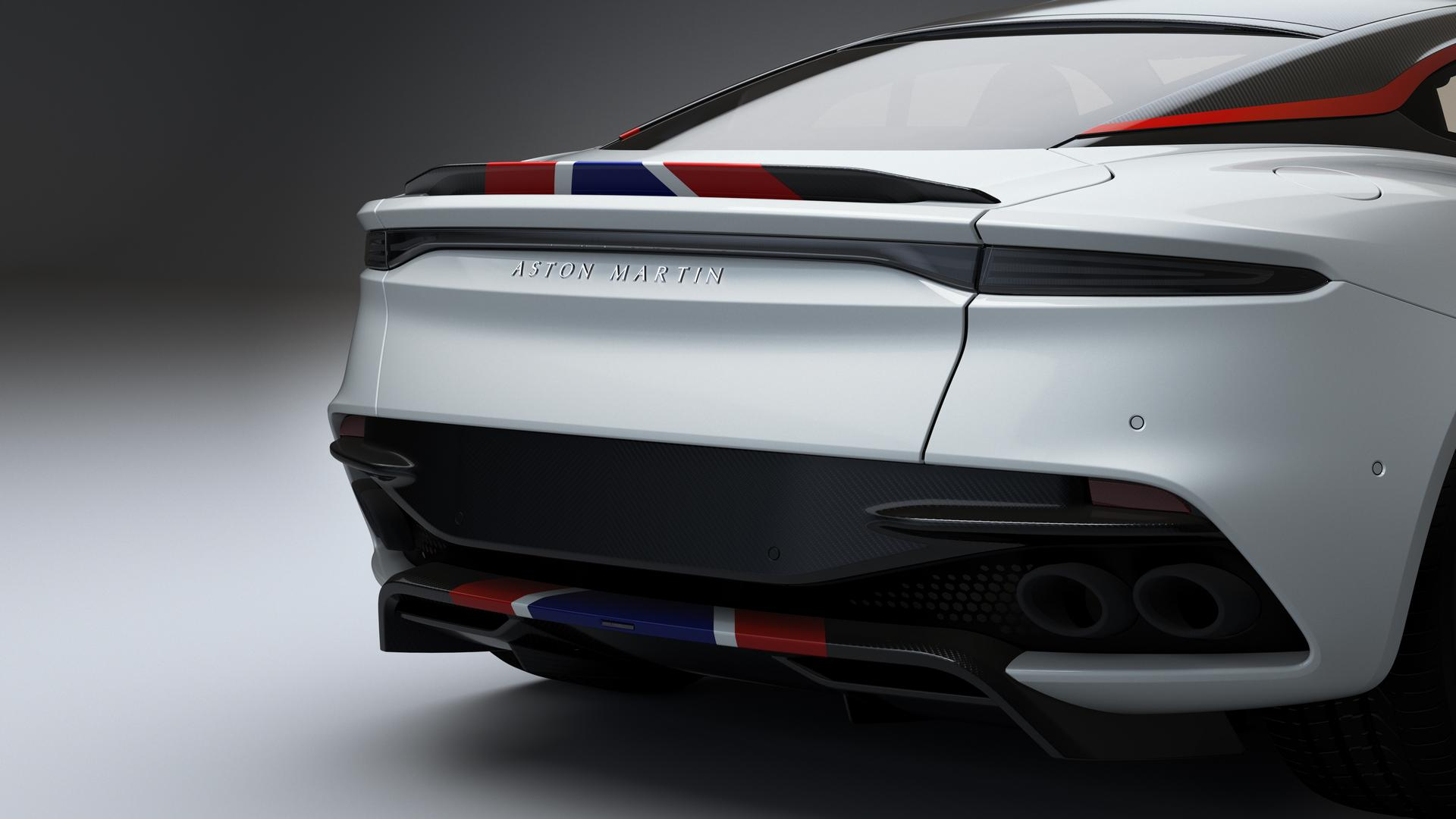 Aston Martin DBS Superleggera Concorde Edition Rear Lights