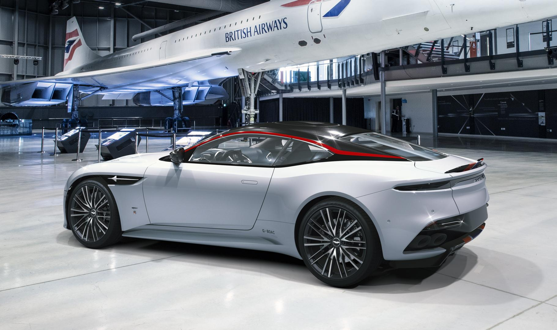 Aston Martin DBS Superleggera Concorde Edition Side
