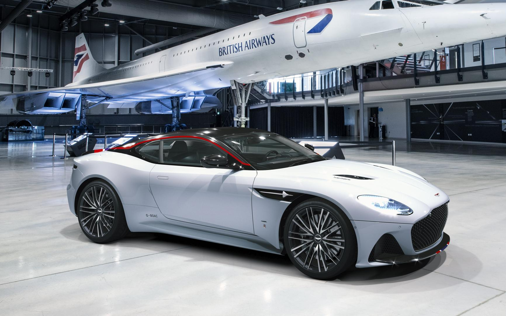 Aston Martin DBS Superleggera Concorde Edition
