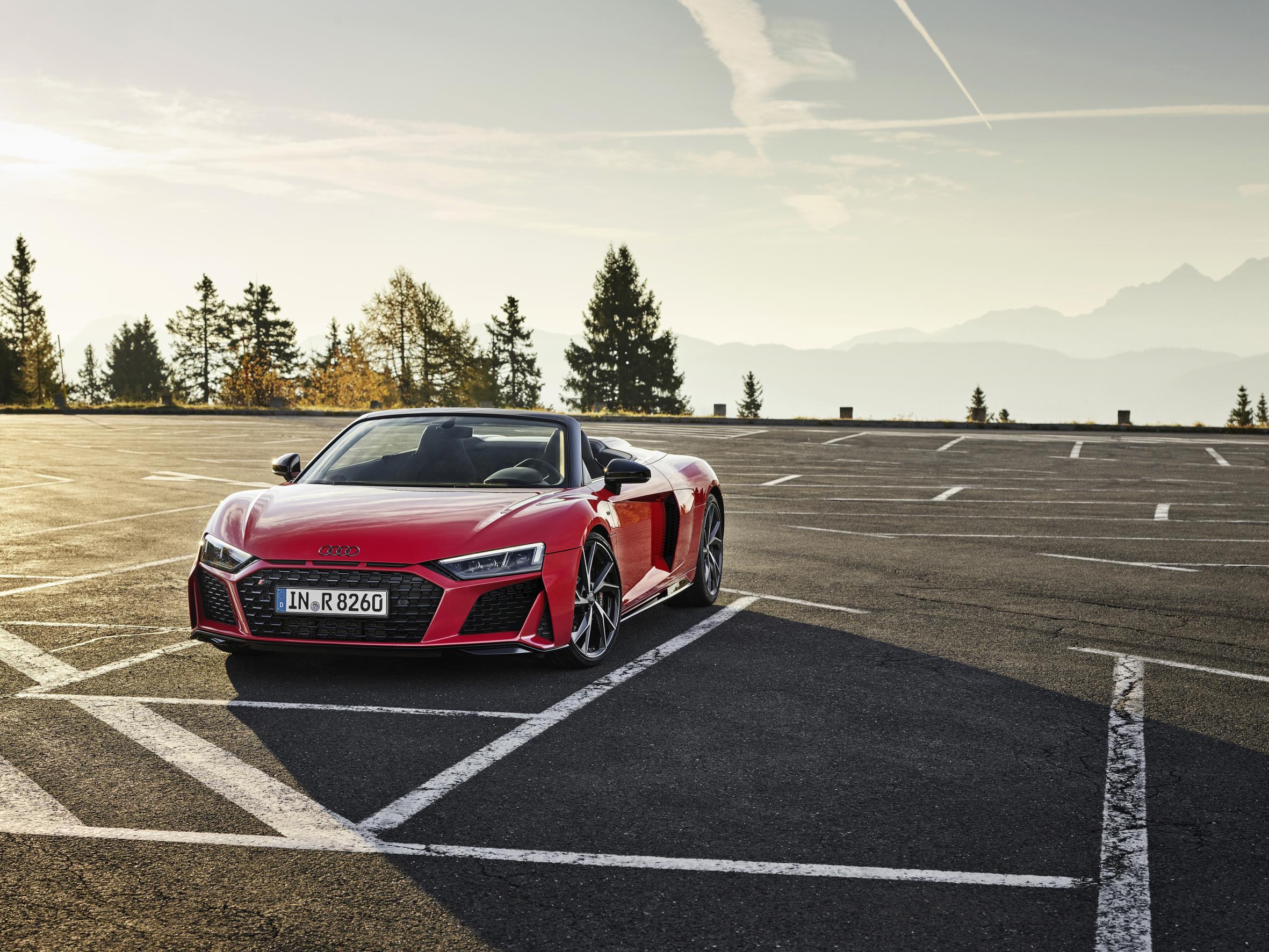 Audi R8 RWD Spyder