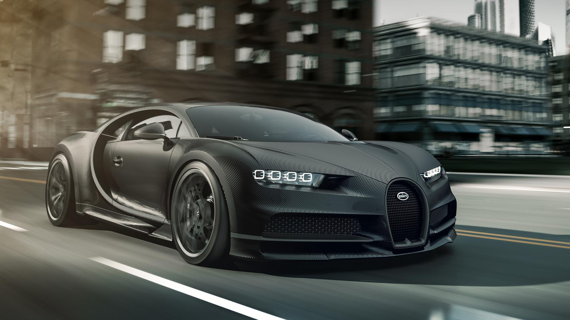 Bugatti Chiron Noire is Bugatti's Monochrome Limited Edition