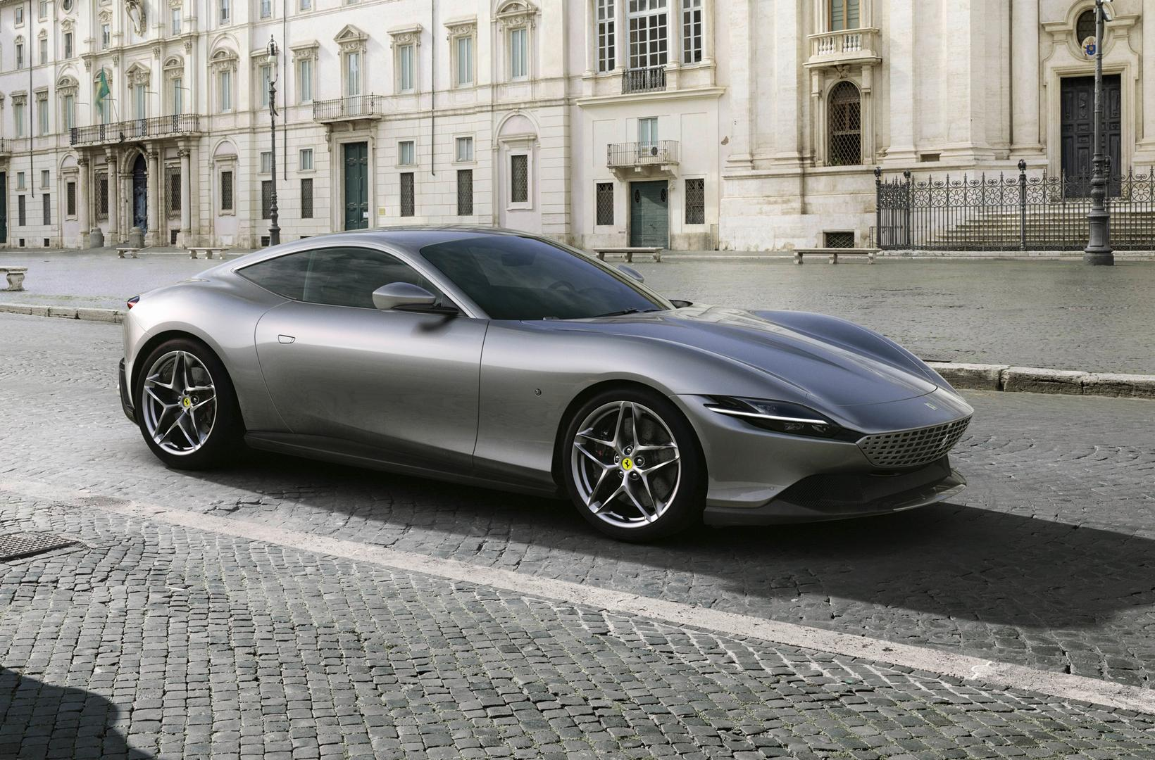 Ferrari Roma: New V8 Coupe Revealed with 620hp