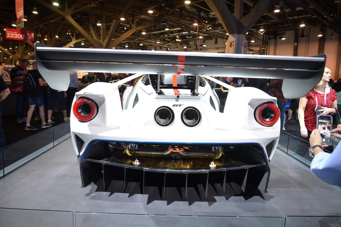 Ford GT MkII Rear Wing