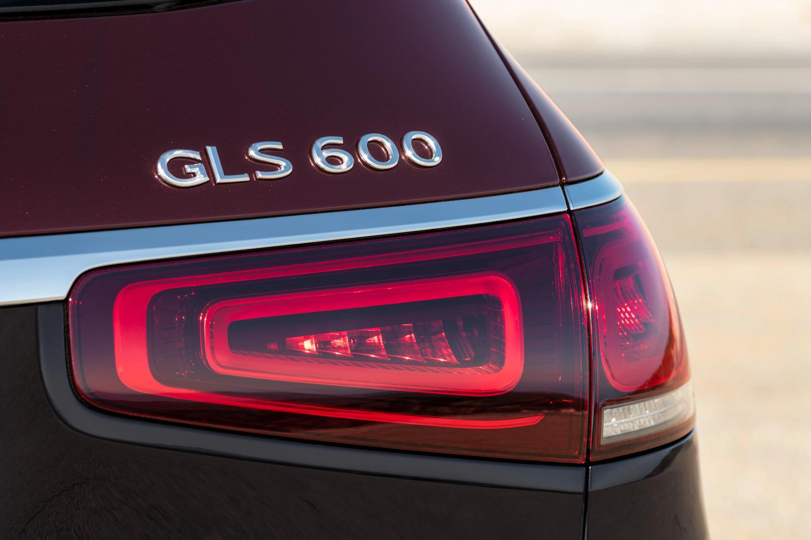 GLS 600 Badge