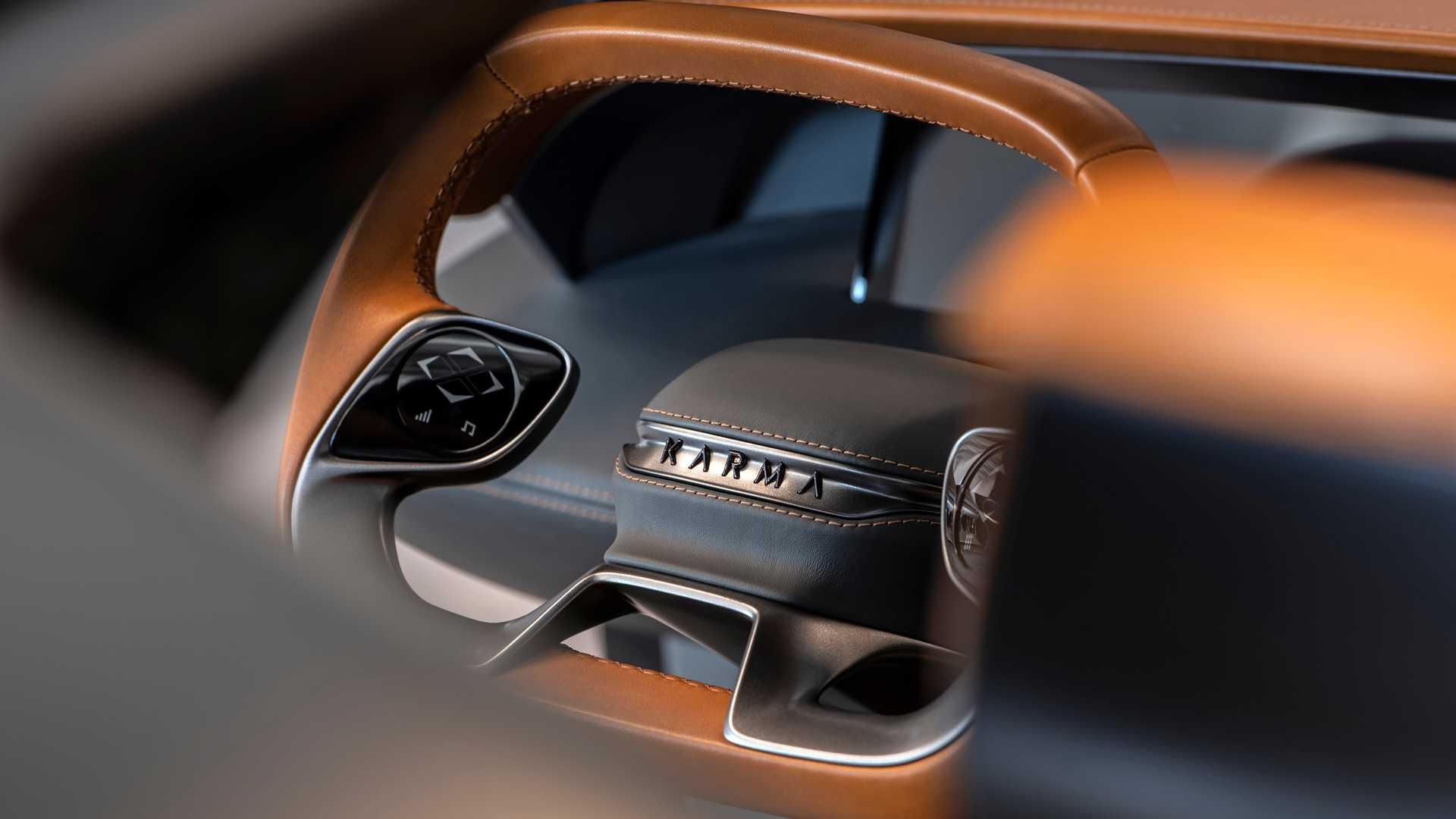 Karma SC2 Concept Steering Wheel