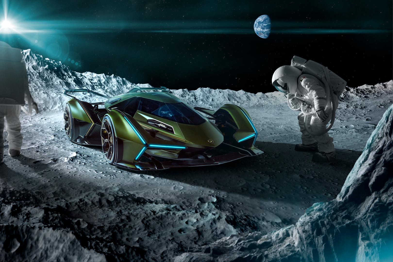 Lamborghini Lambo V12 Vision GT Moon