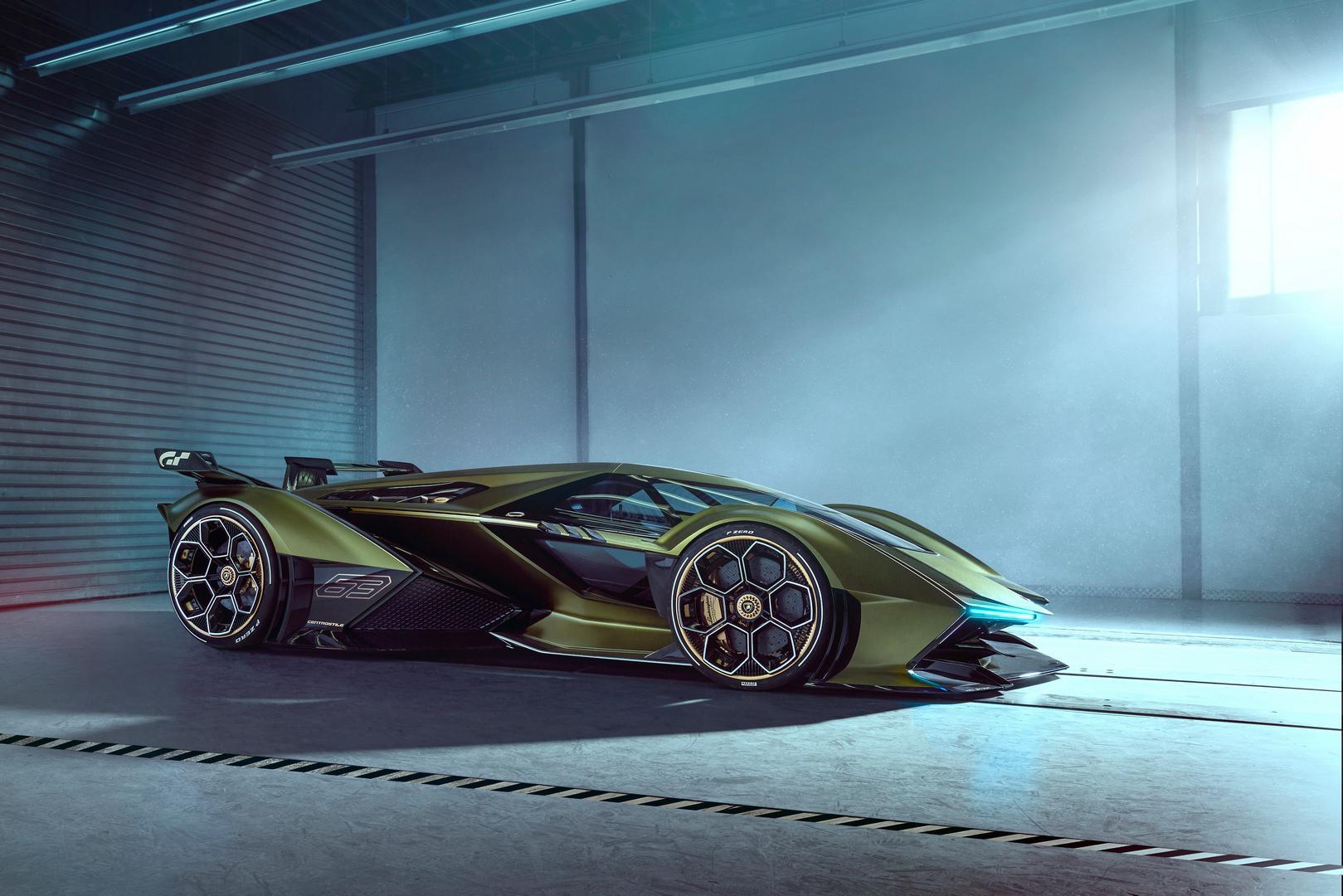 Lamborghini Lambo V12 Vision GT Side View