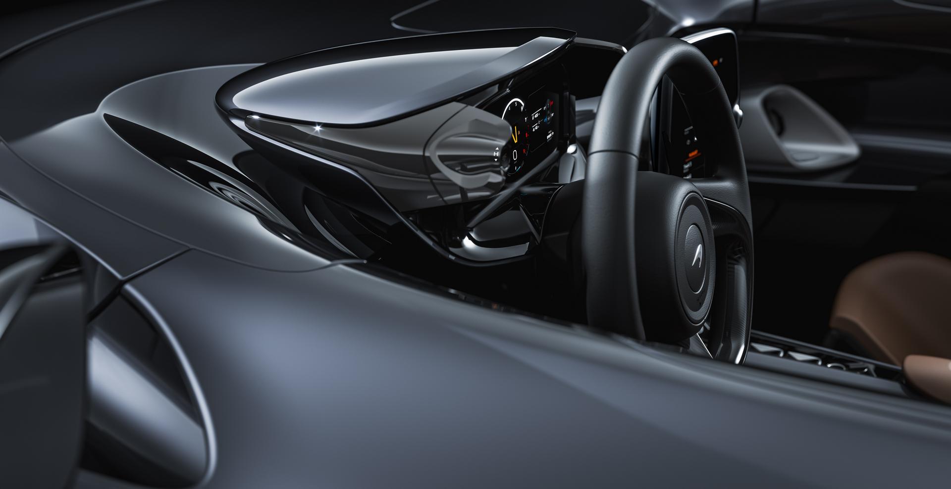 McLaren Elva Steering Wheel
