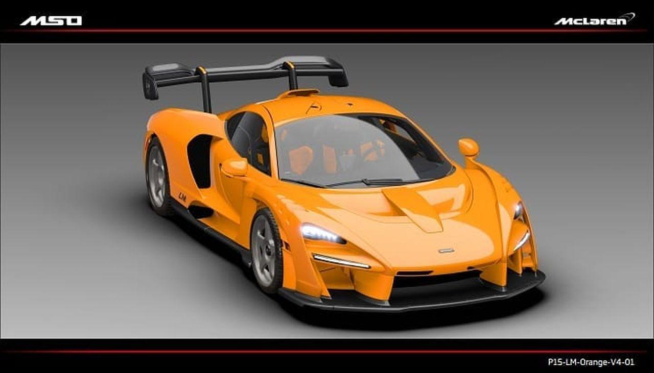 McLaren Senna LM Front