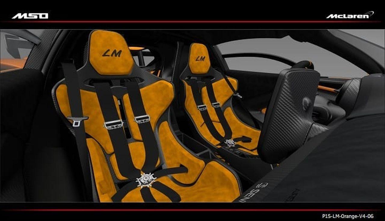McLaren Senna LM Seats
