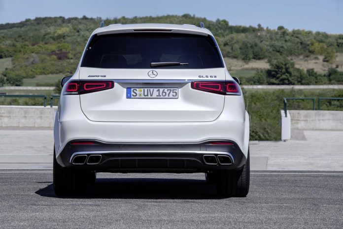 Mercedes-AMG GLS 63 S Rear