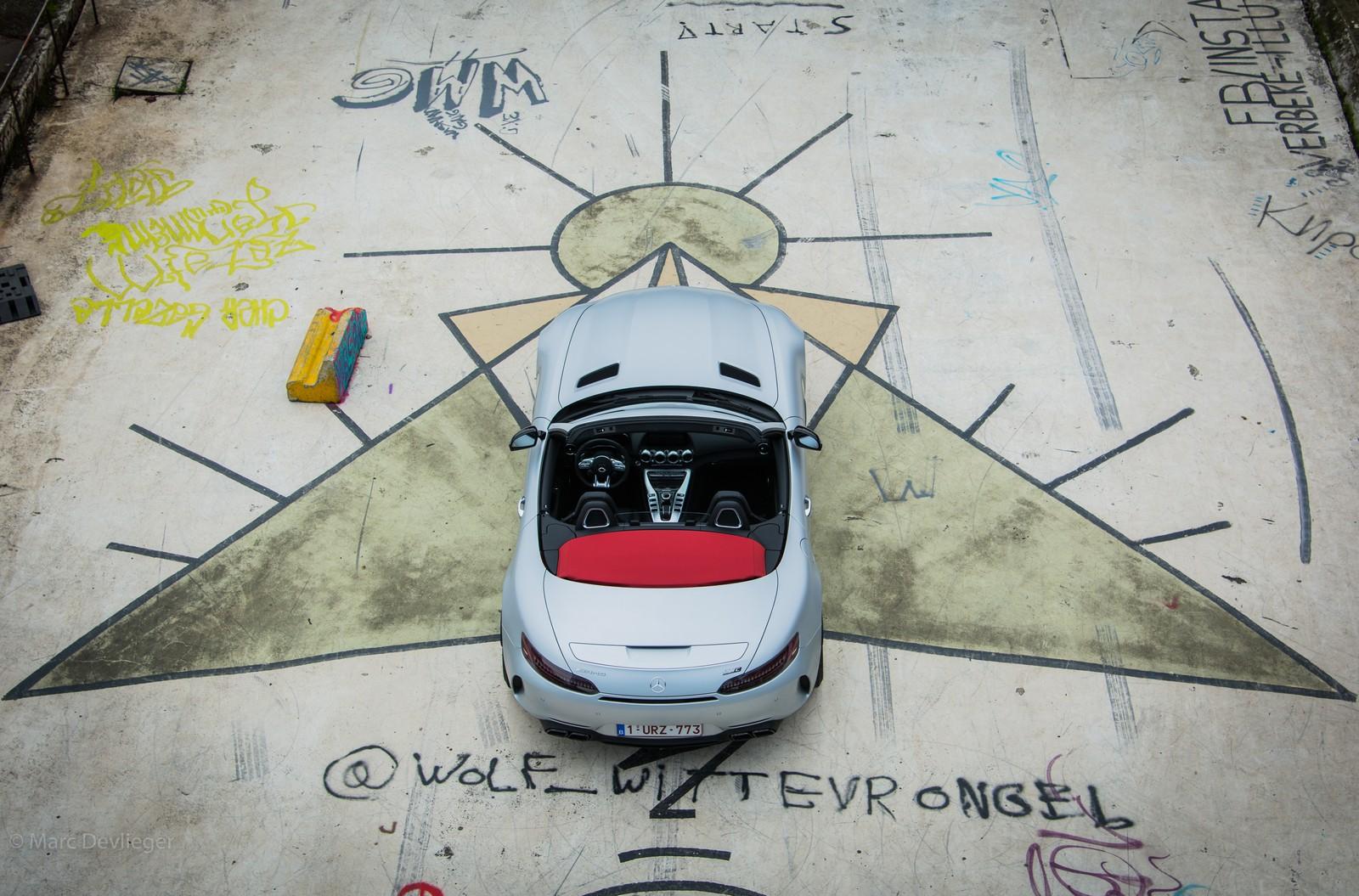 Mercedes-AMG GT Roadster Aerial