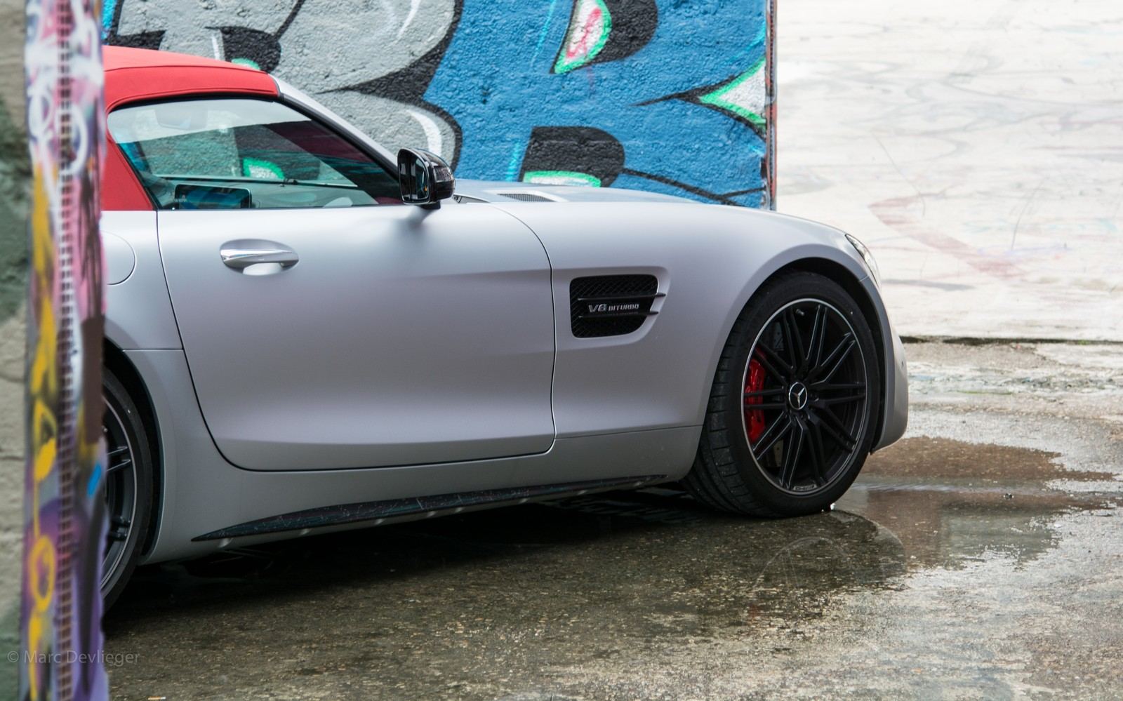 Mercedes-AMG GT Roadster Door