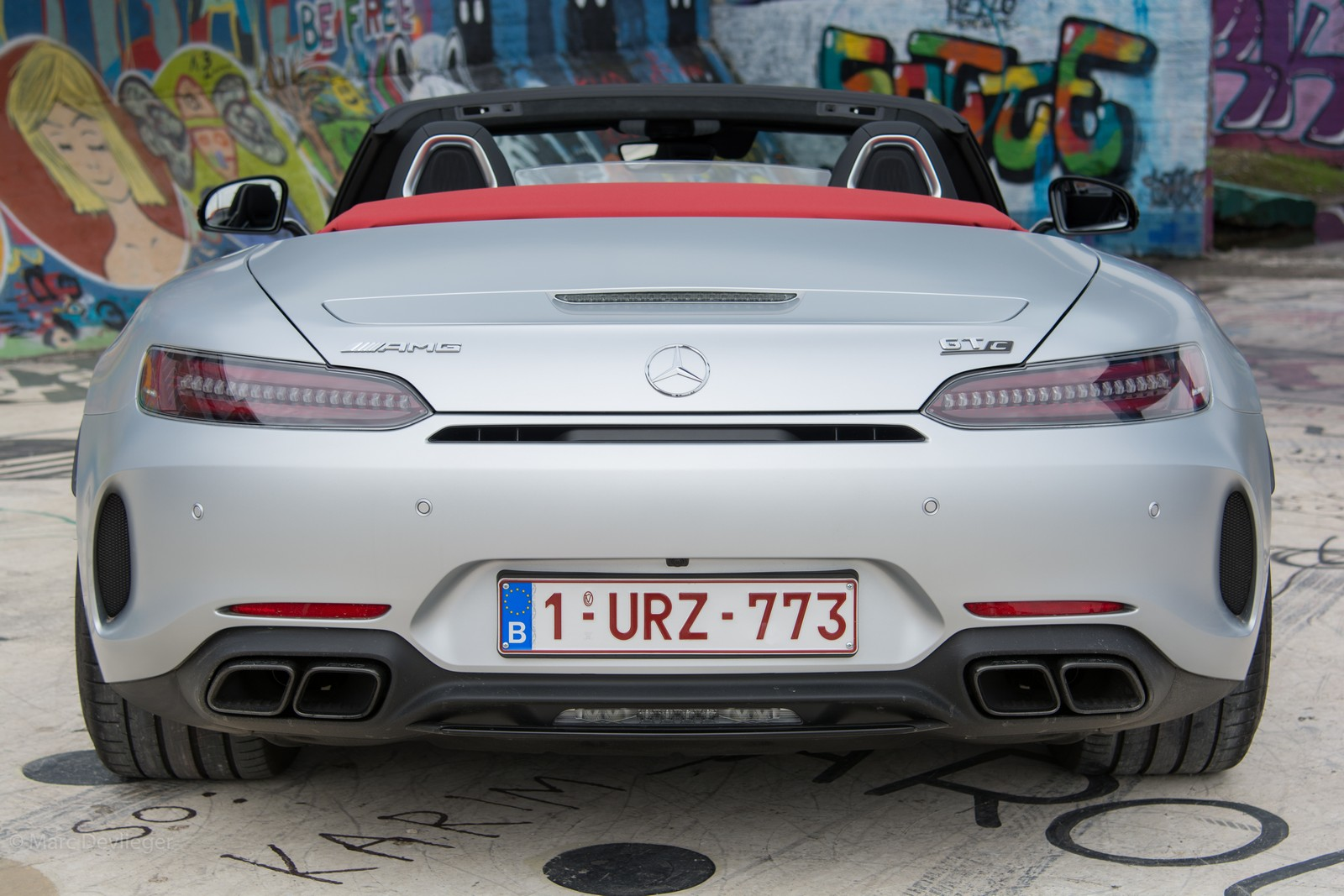 Mercedes-AMG GT Roadster Rear