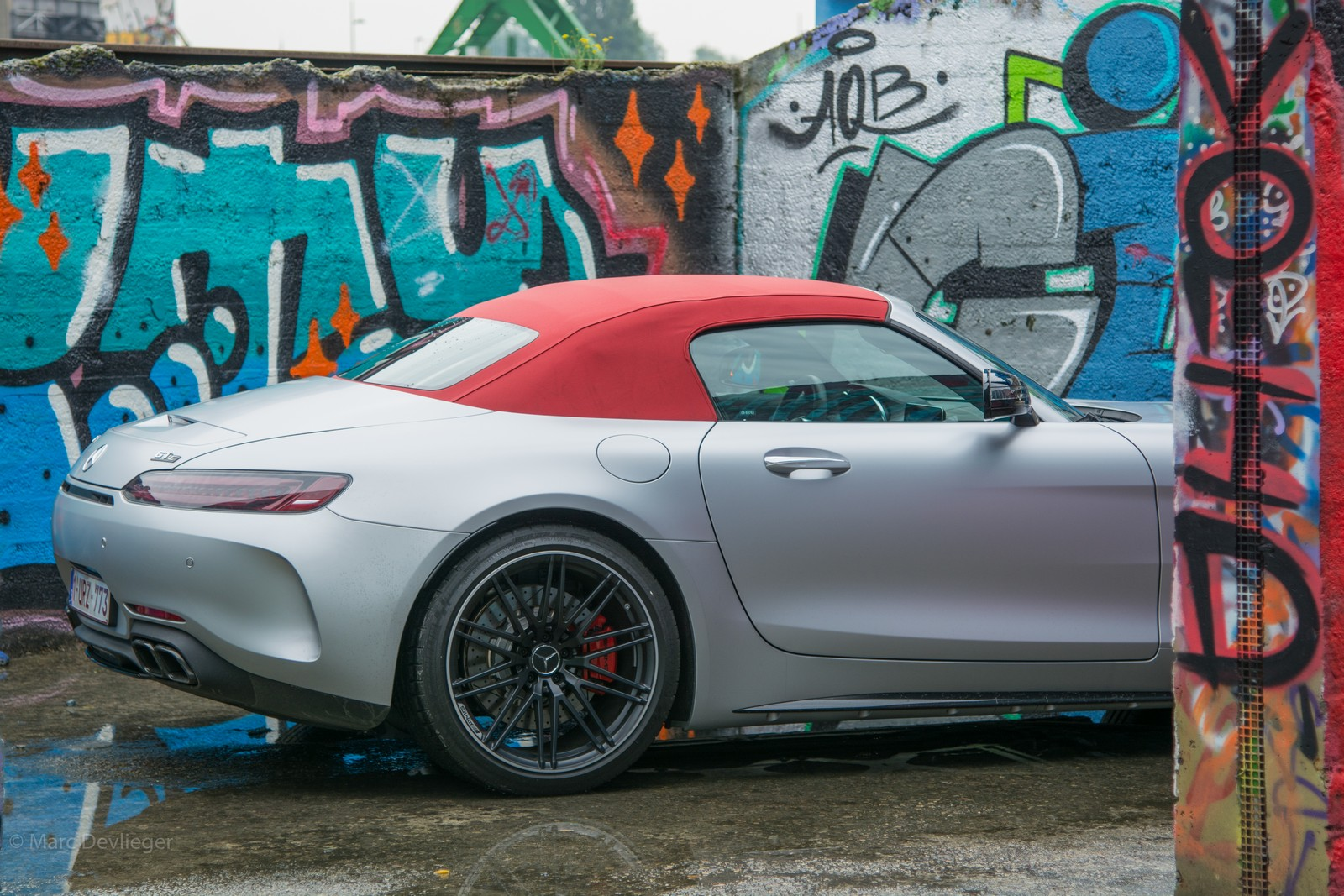 Mercedes-AMG GT Roadster Red top
