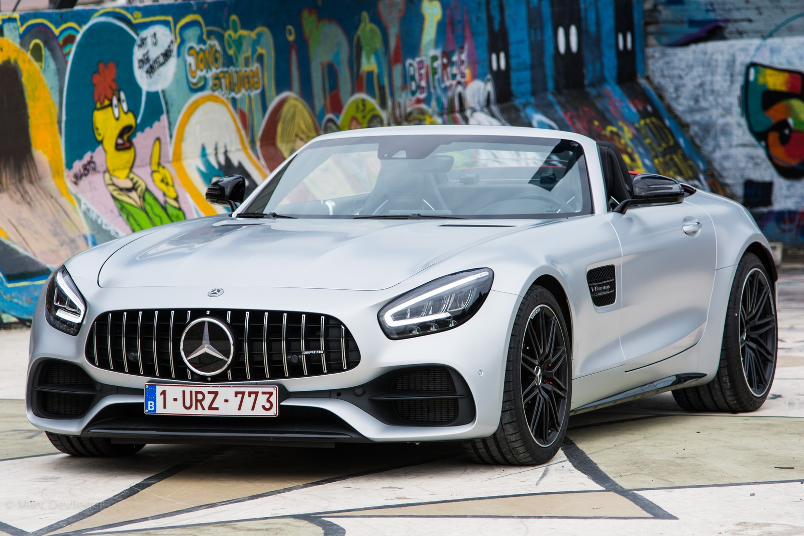 Mercedes-AMG GT Roadster Silver