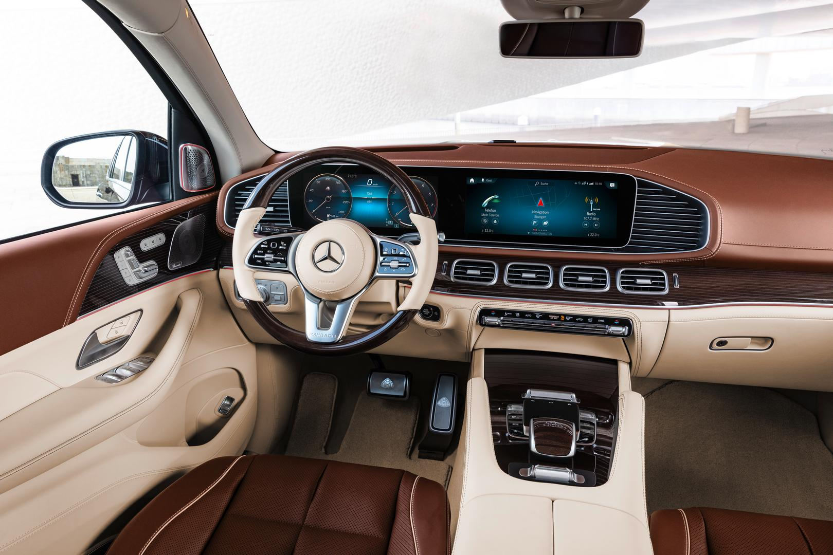 Mercedes-Maybach GLS 600 Cockpit