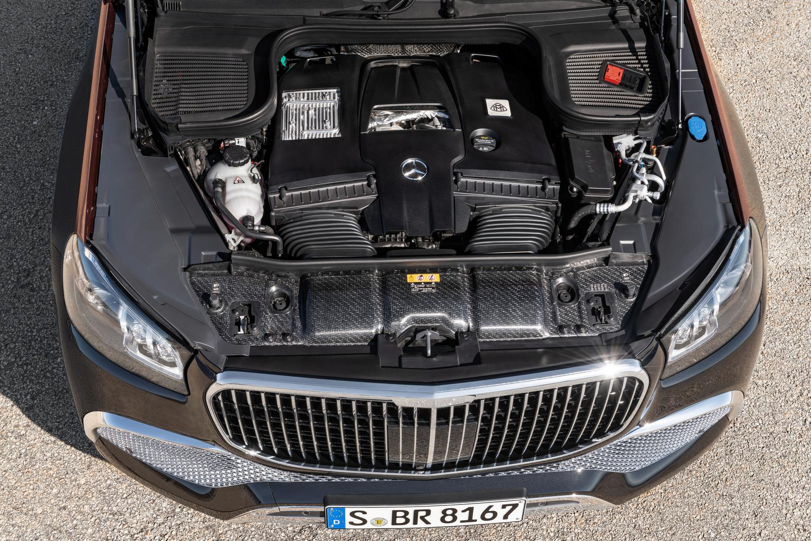 Mercedes-Maybach GLS 600 Engine