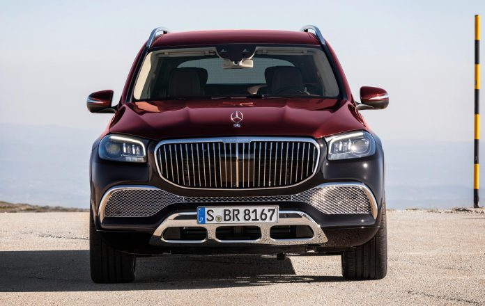 Mercedes-Maybach GLS 600 Front