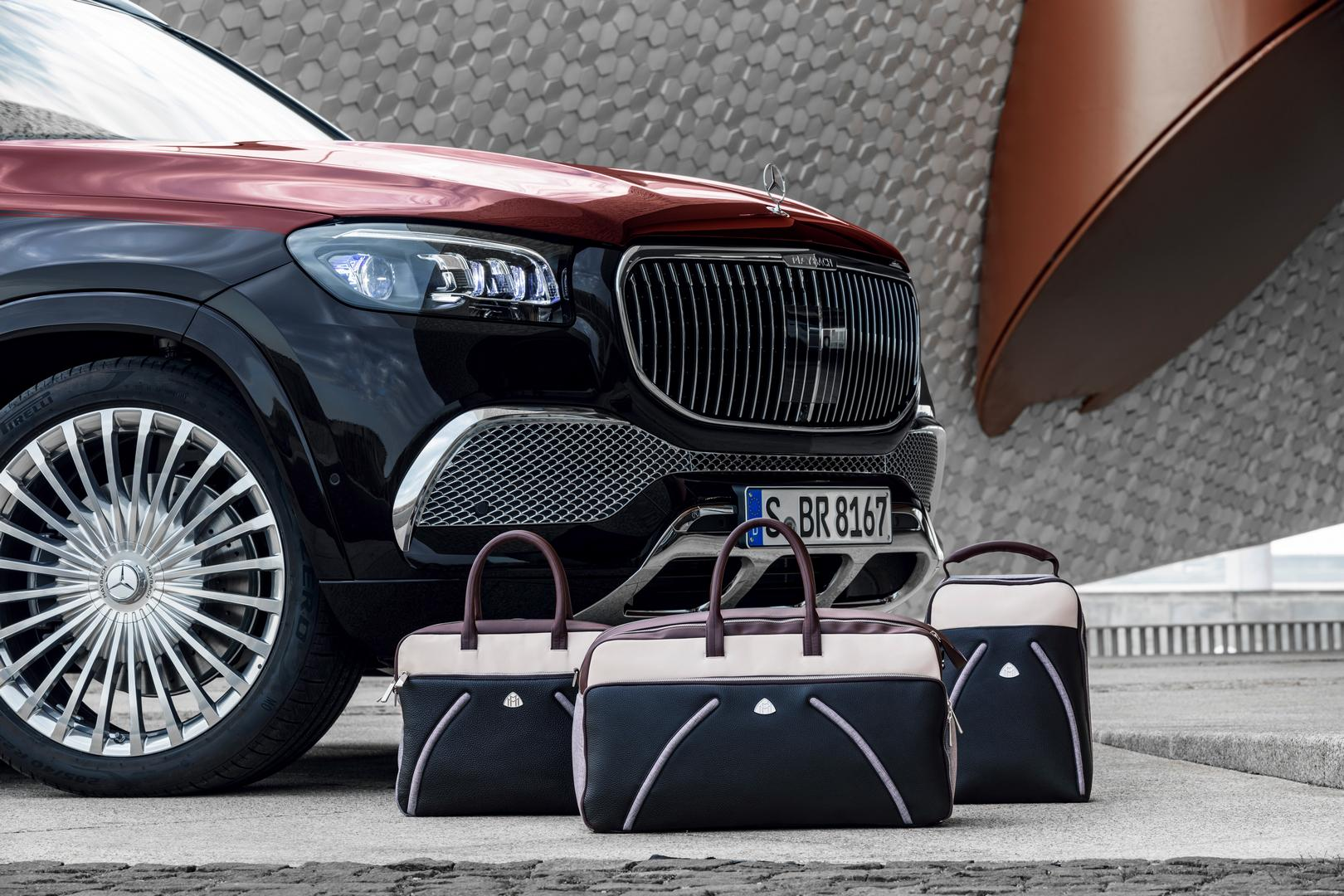 Mercedes-Maybach GLS 600 Luggage