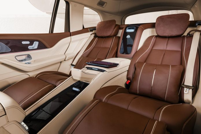 Mercedes-Maybach GLS 600 Rear Seats