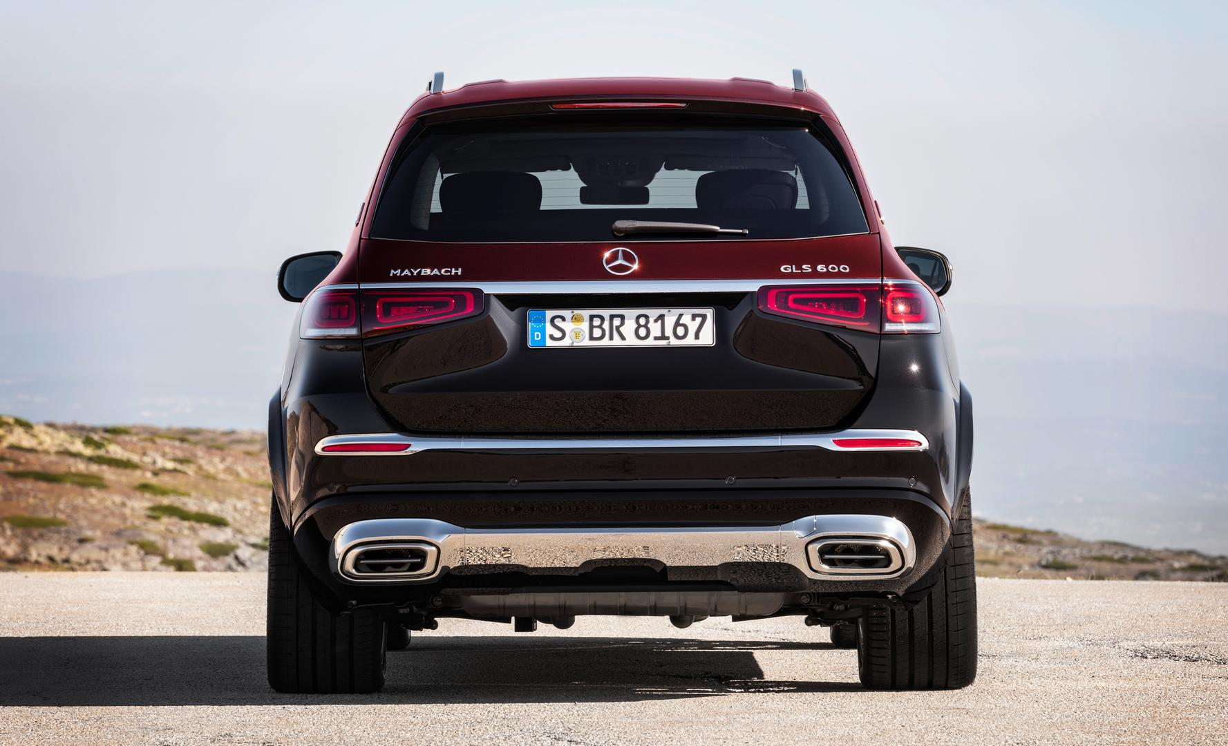 Mercedes-Maybach GLS 600 Rear