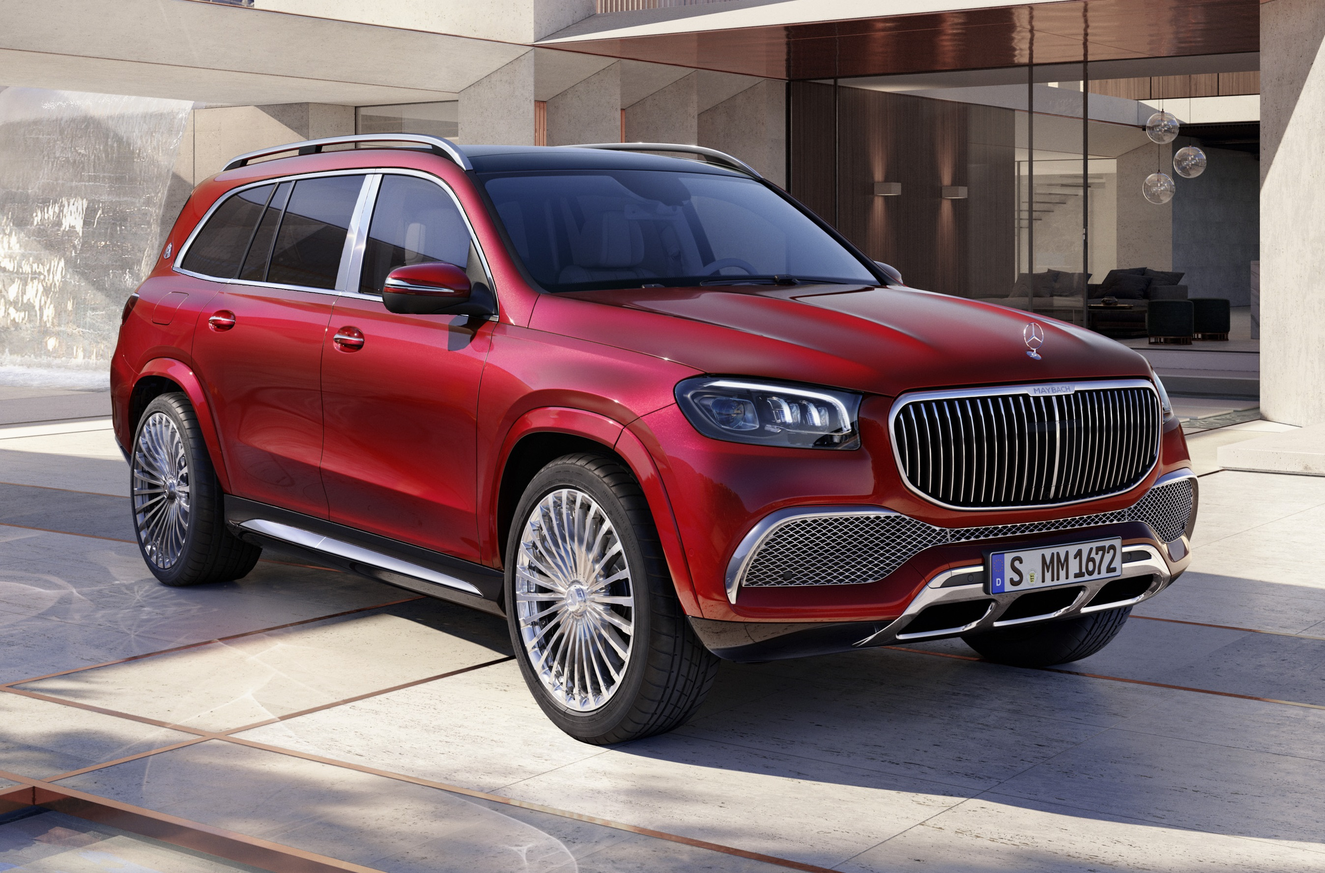 2020 Mercedes Maybach Gls 600 Officially Revealed Gtspirit