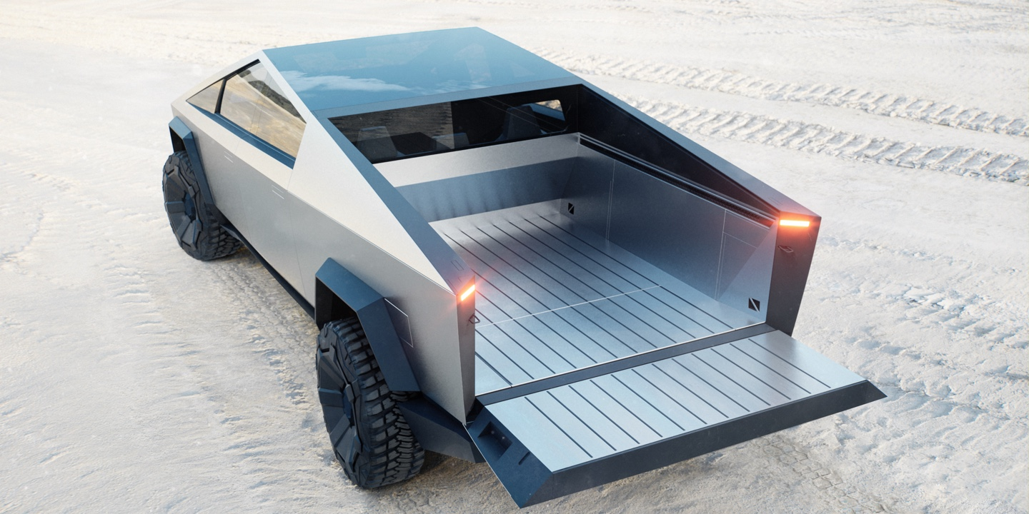 Tesla Cybertruck Bed