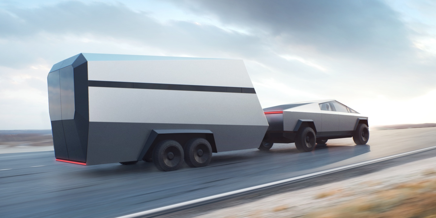 Tesla Cybertruck Trailer