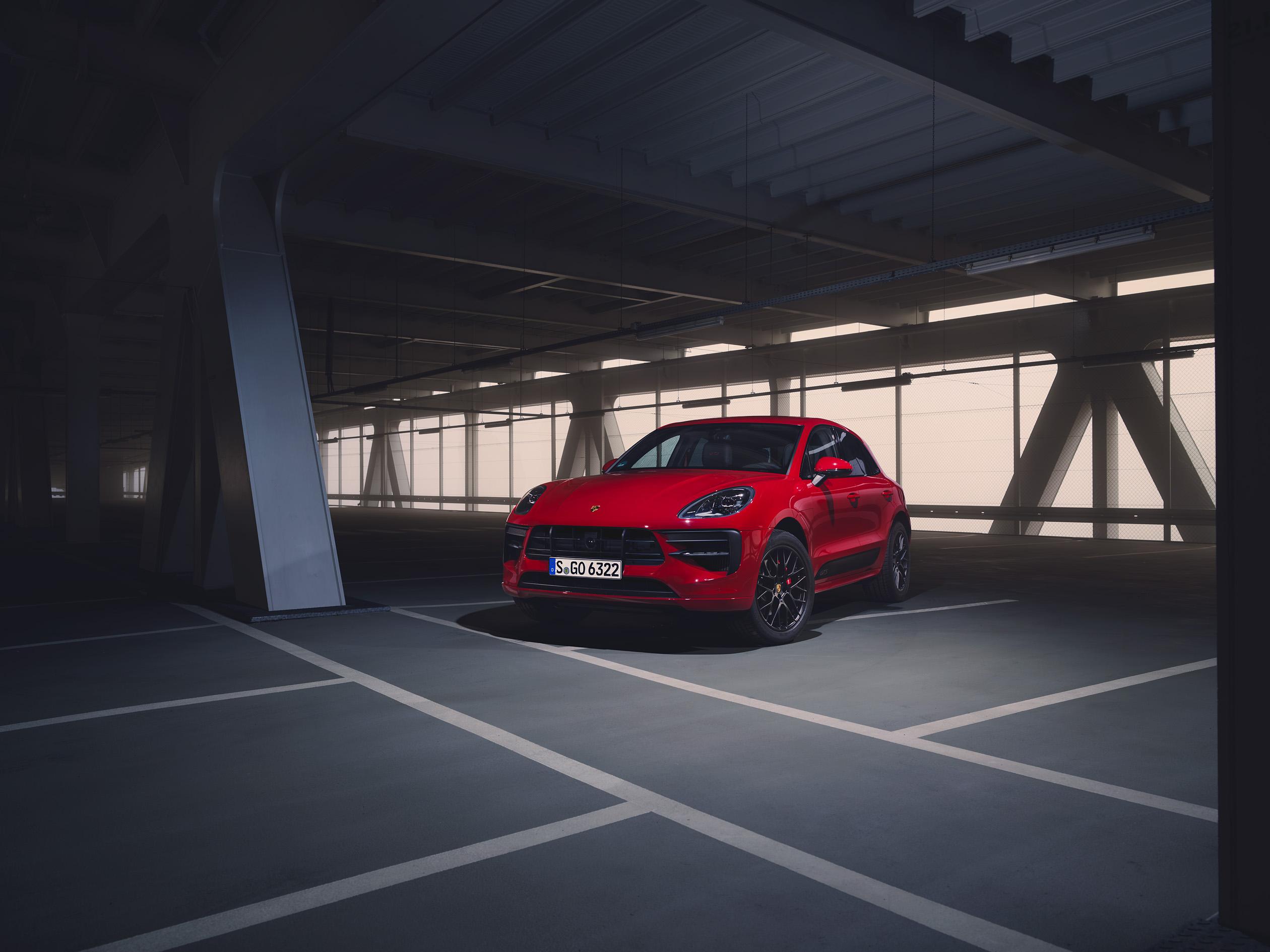 2020 Porsche Macan GTS Red