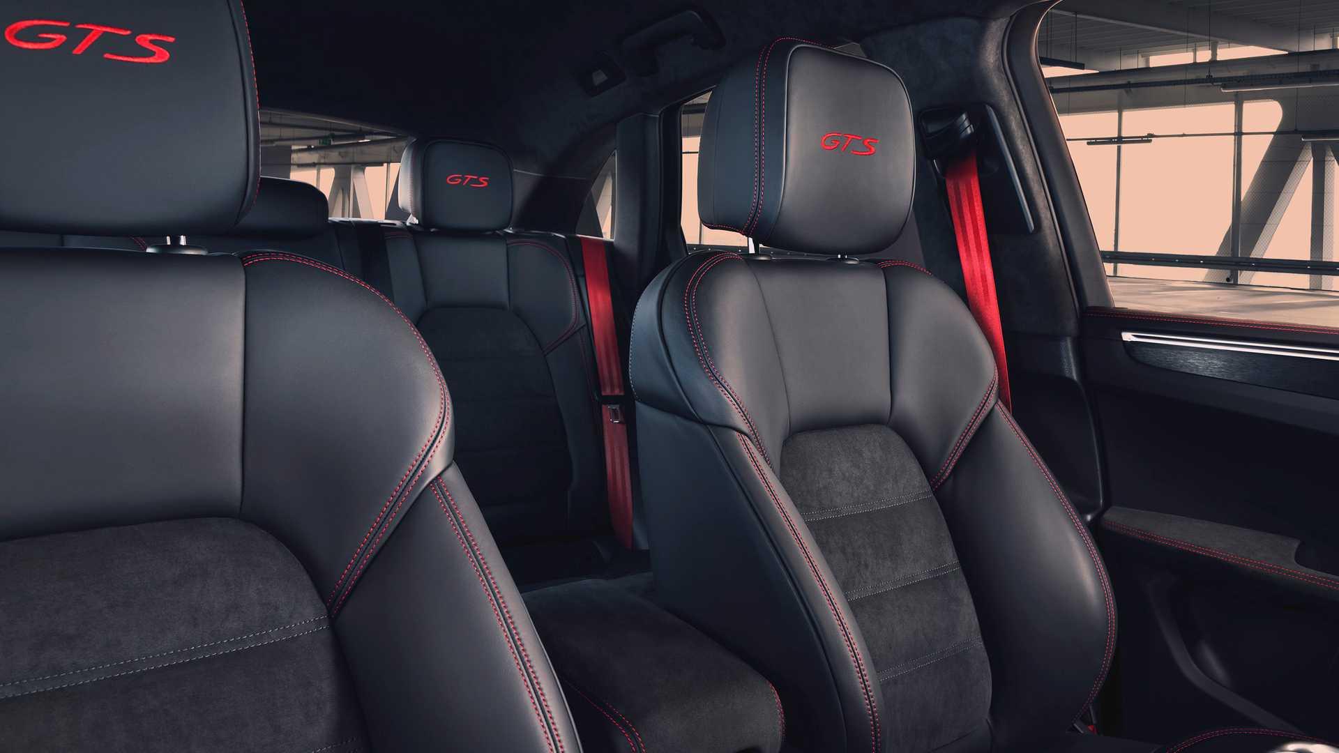 2020 Porsche Macan GTS Seats