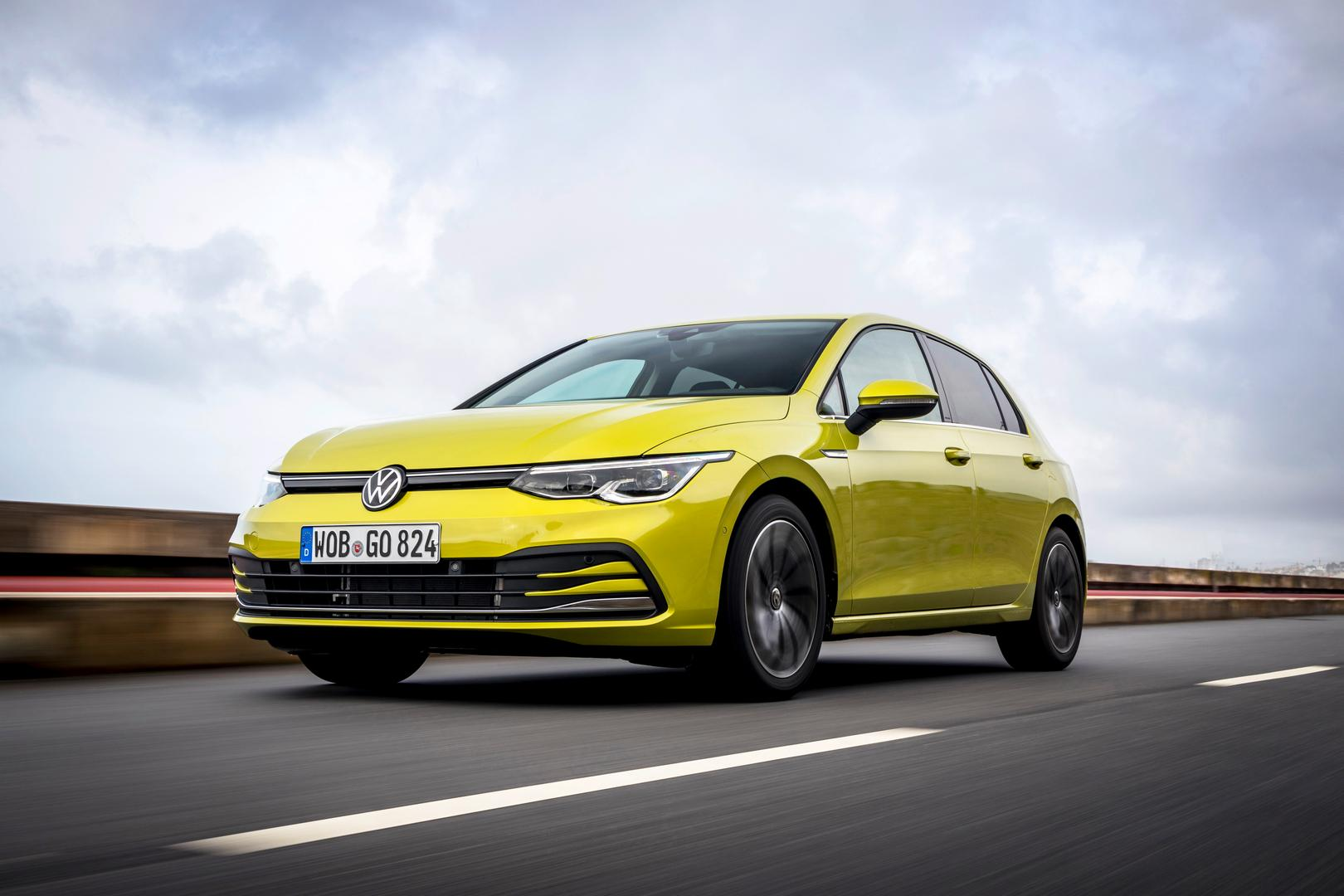 2020 VW Golf 8 Colors