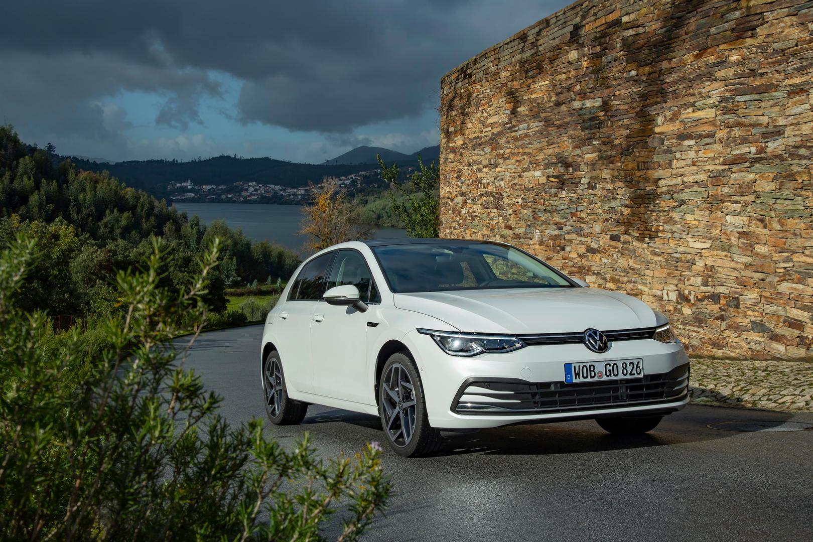 2020 VW Golf 8 White