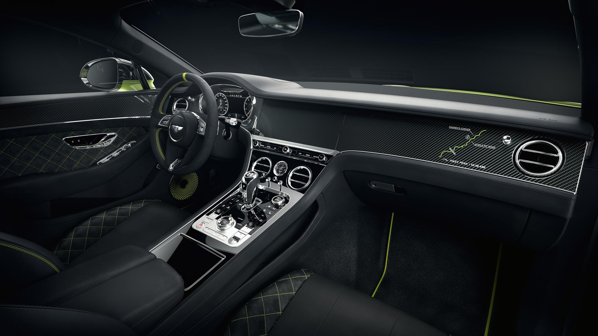 Bentley Continetal GT Interior