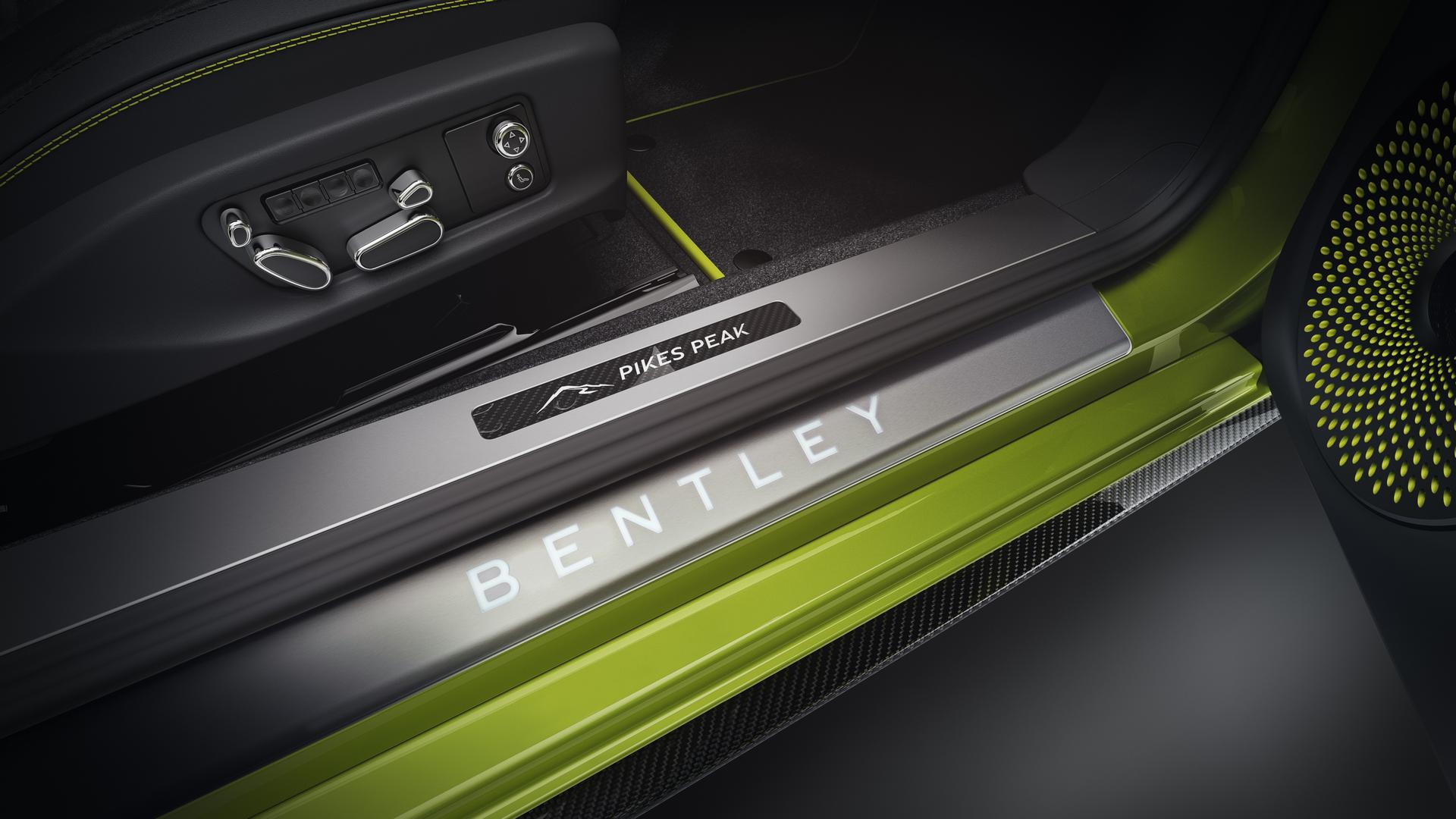 Bentley Door Sill Pikes Peak