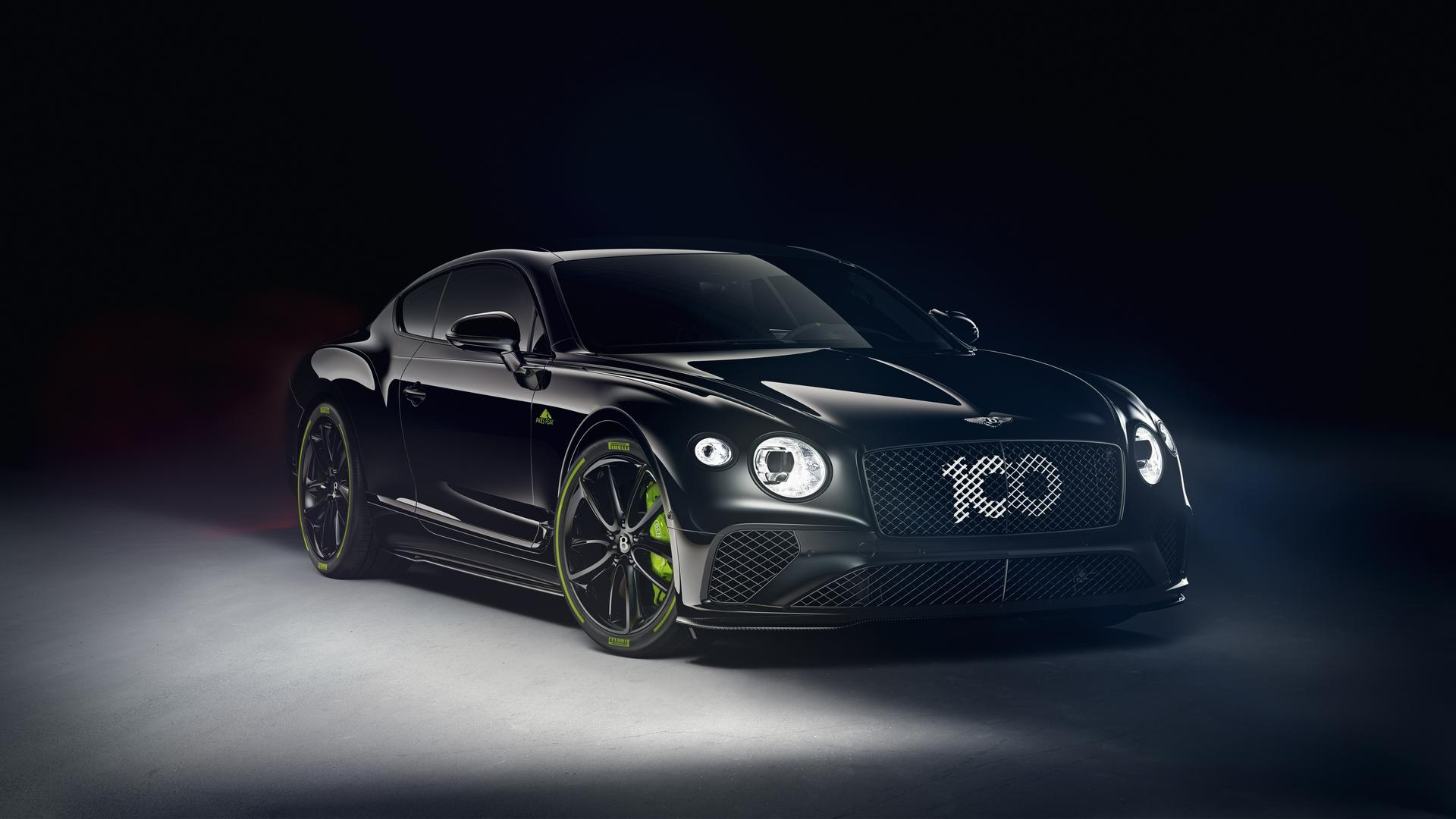 Black Bentley Continetal GT