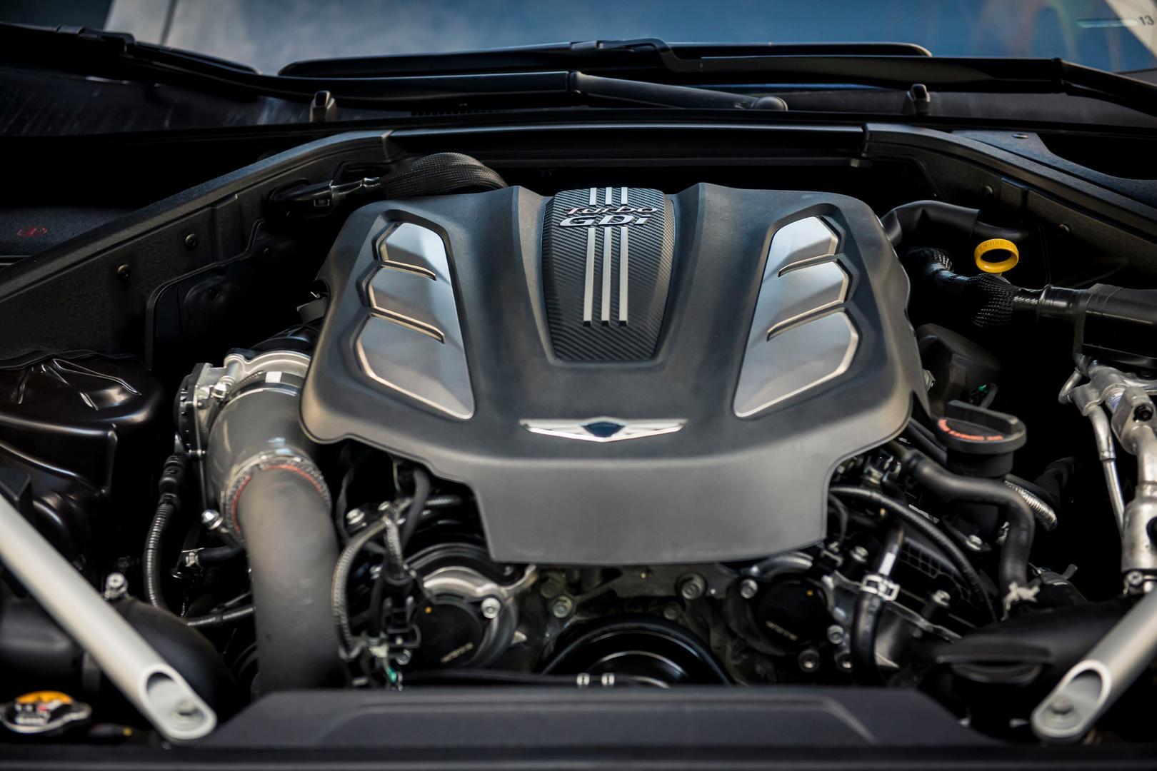 Genesis G90 Engine