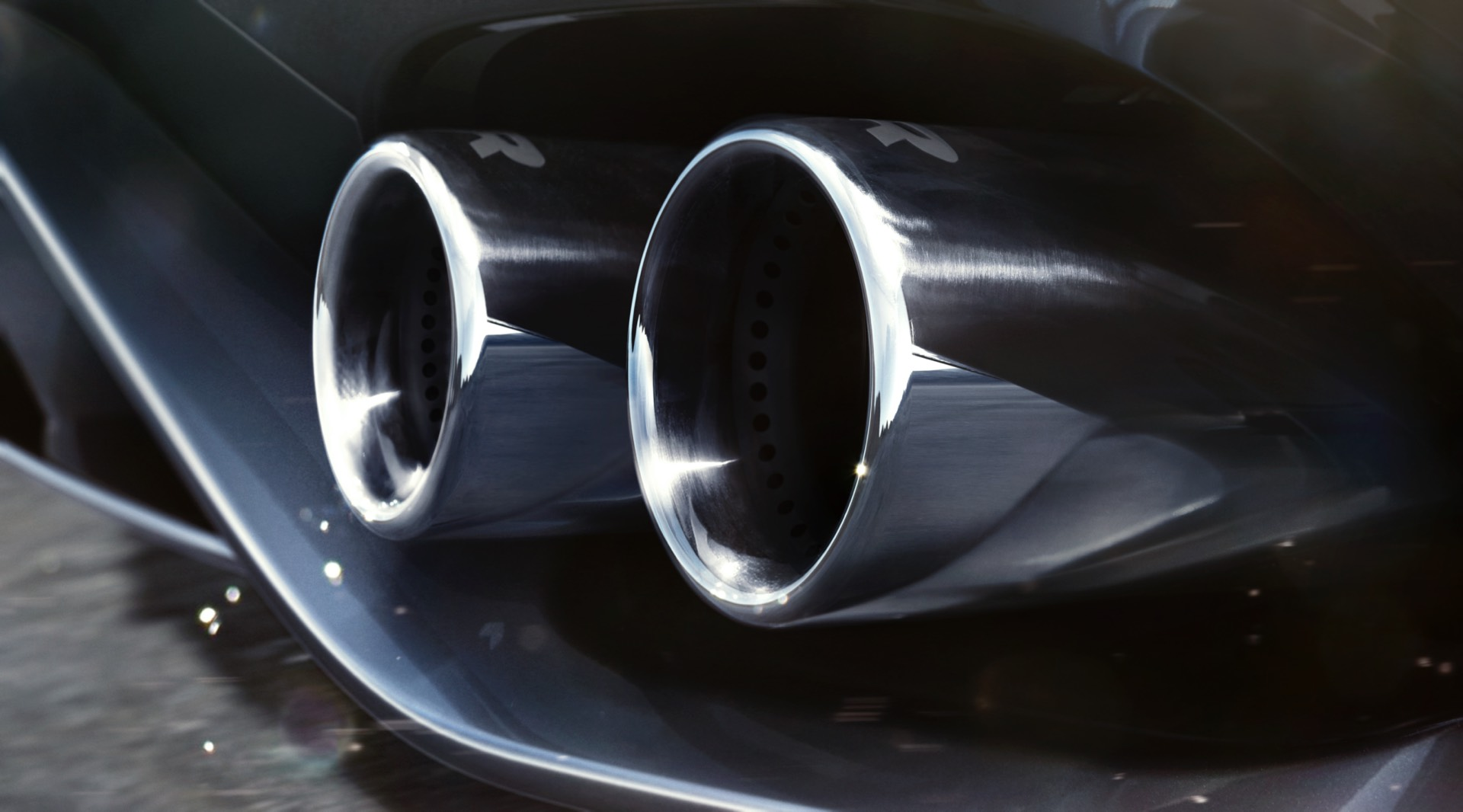 Jaguar F Type Coupe Facelift Exhaust