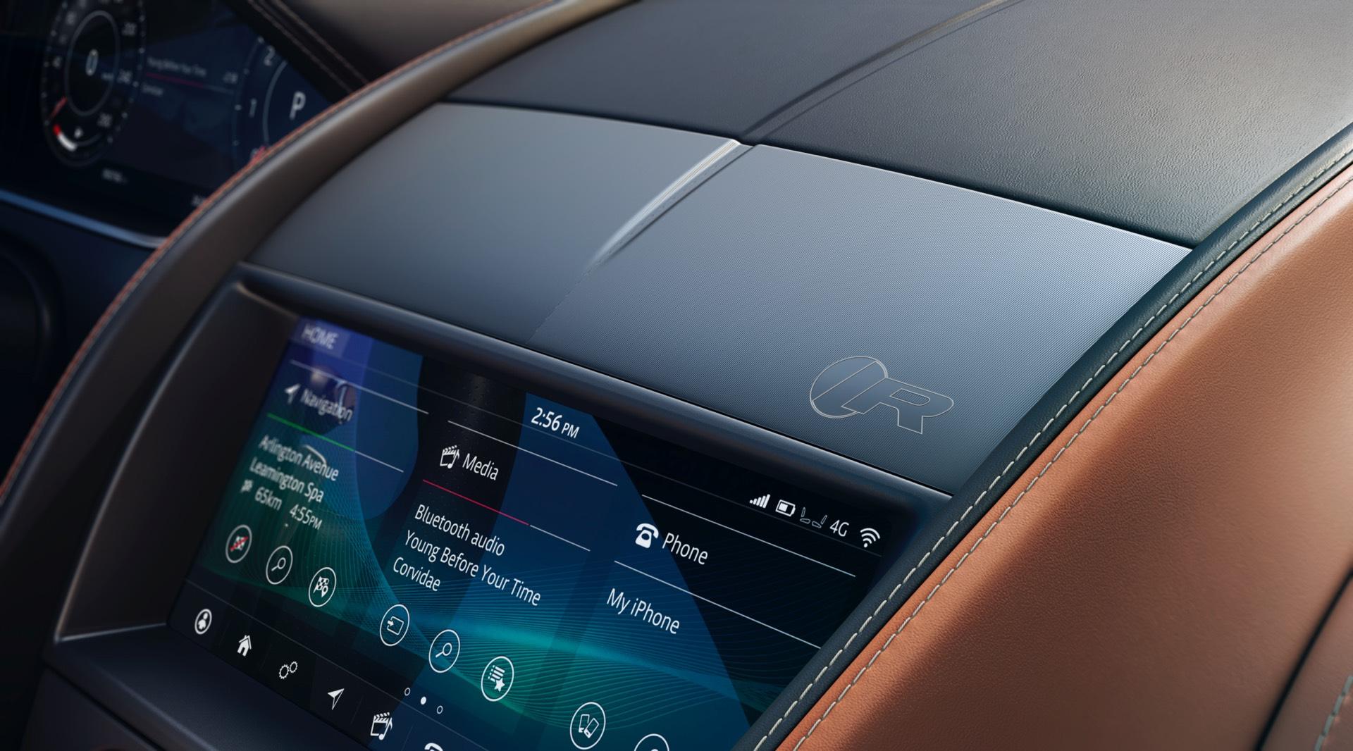 Jaguar F Type Coupe Facelift Rear Centre Console