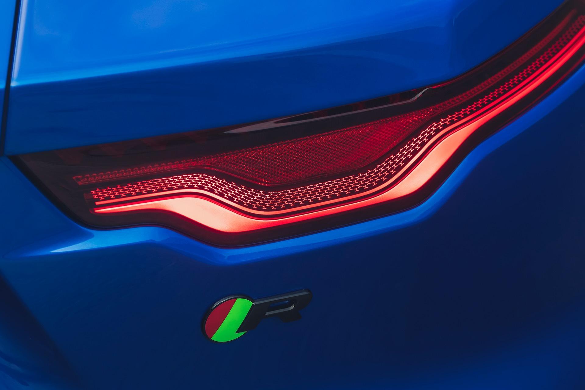 Jaguar F Type Coupe Facelift Rear Light