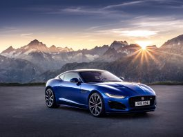 Jaguar F Type Coupe Facelift Location