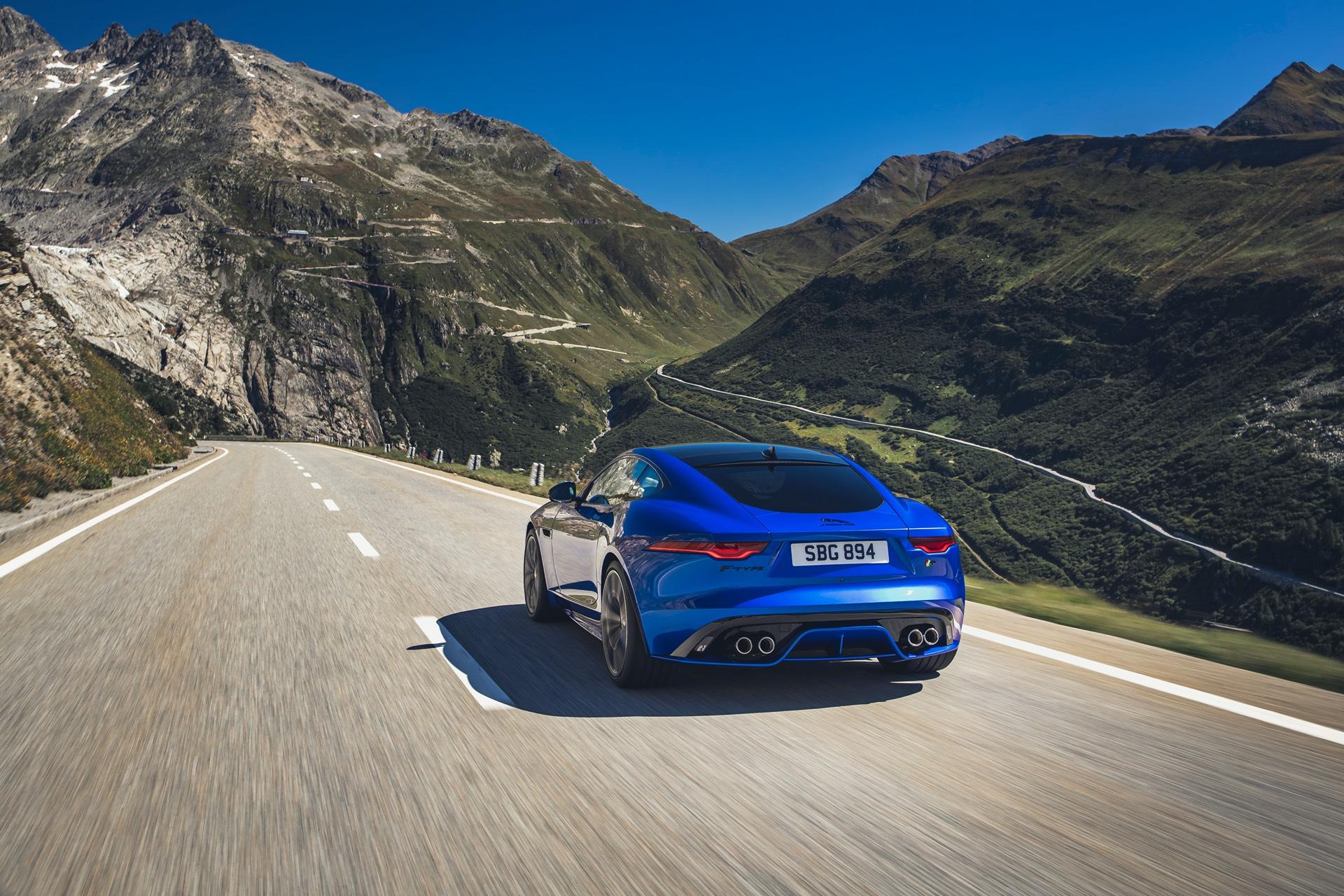 Jaguar F Type Coupe Facelift Location
