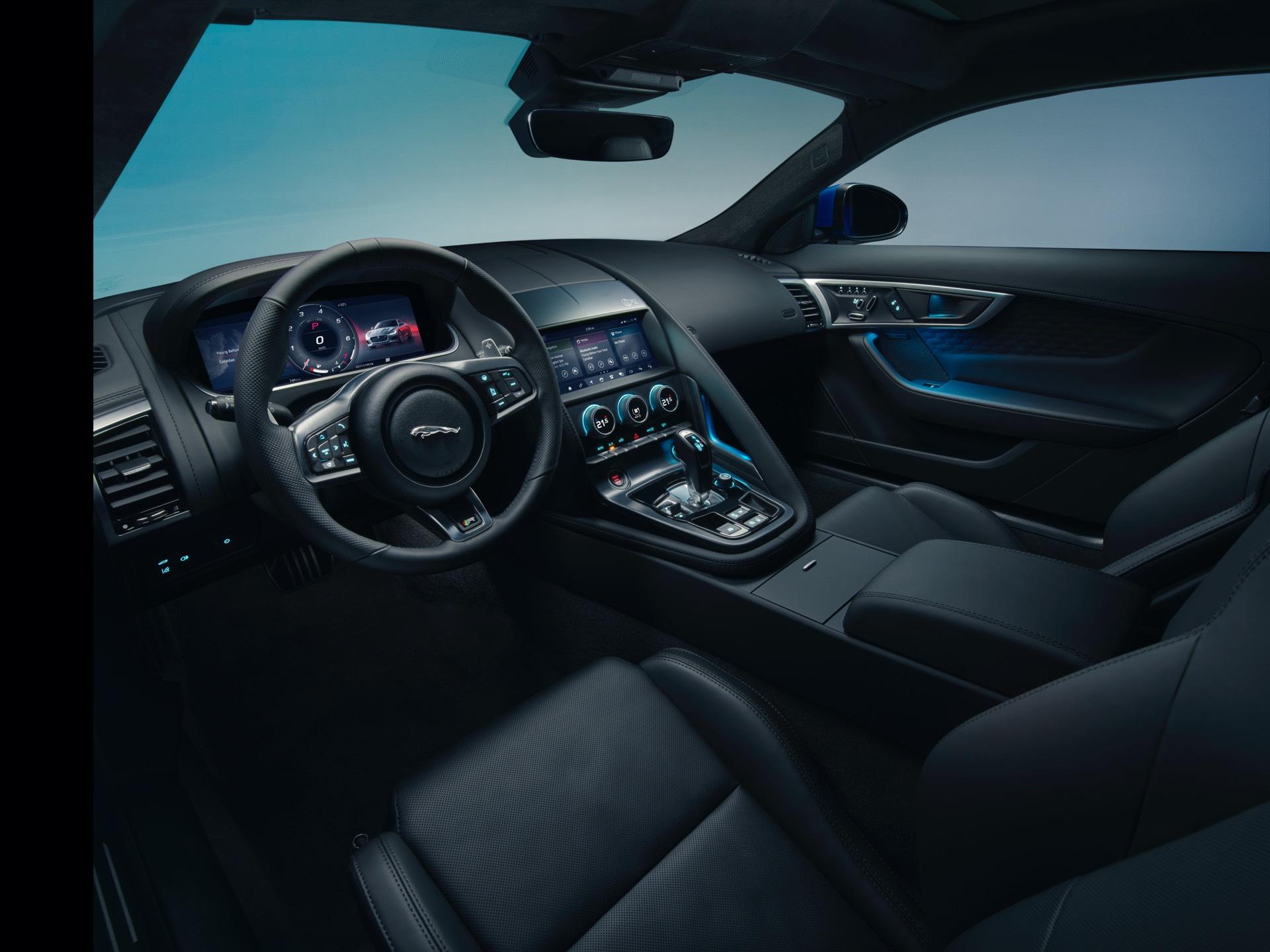 Jaguar F Type Coupe Facelift Interior