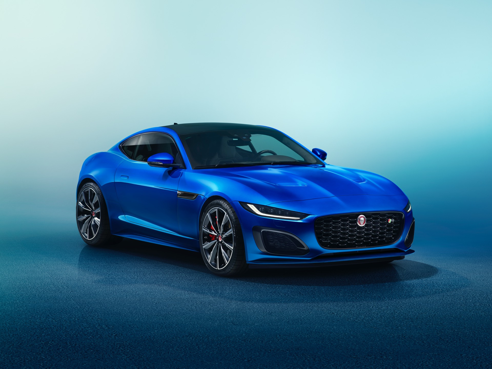 Jaguar F Type Coupe Facelift Studio