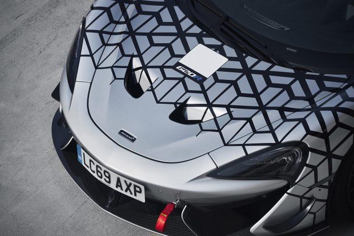 McLaren 620R Bonnet Hood