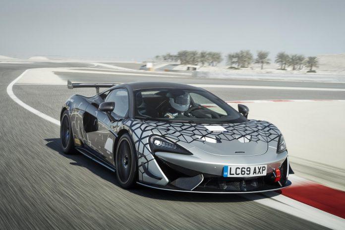 McLaren 620R Track