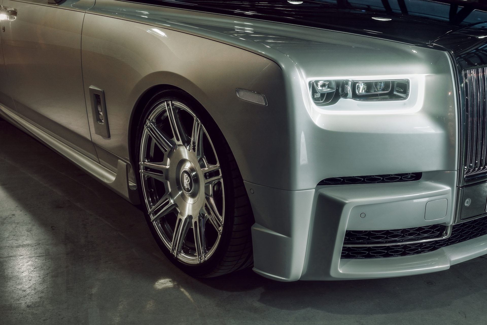 Rolls-Royce Phantom 8 Vossen Wheels